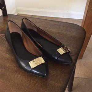 Banana Republic Black Flat Shoes